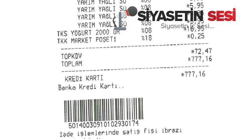 Erdoğan'ın marketine i̇yi̇ parkai de gitti: sonuç...