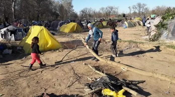 Salgın, göçmen krizini büyütüyor 1