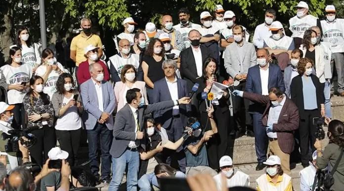 HDP barış zinciri