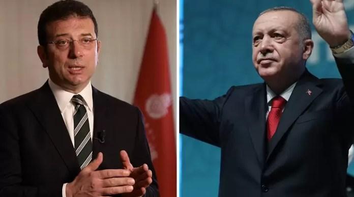 Ekrem İmamoğlu Tayyip Erdoğan