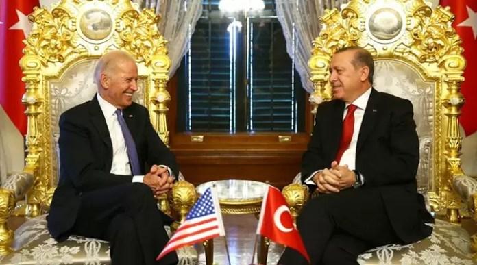 Joe Biden Tayyip Erdoğan