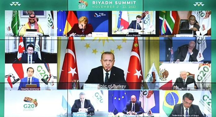 Suudi Arabistan G20 Liderler Zirvesi