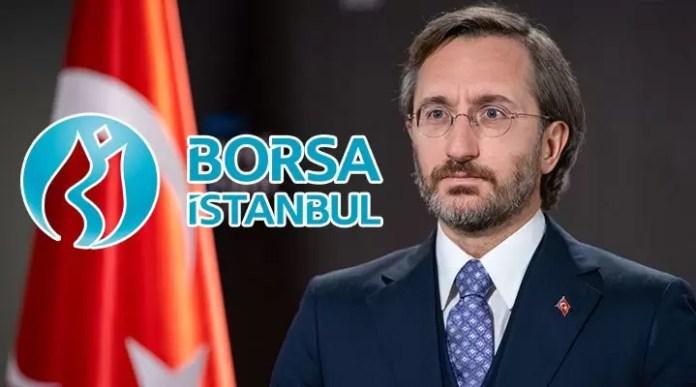 Borsa İstanbul Fahrettin Altun