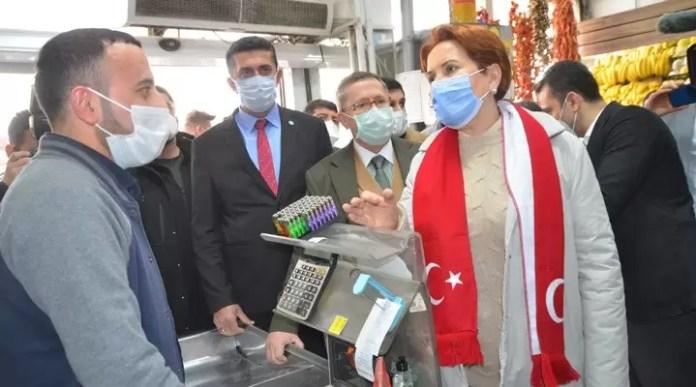 Hakkari Yüksekova Meral Akşener