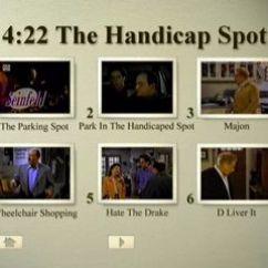 Wheelchair Drake Chrome Dining Chair Episode 22: The Handicap Spot