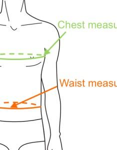 Determine coat and jacket size with chest waist measurements also men   european rh sizechart