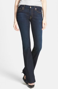 bootcut 7 for all mankind jean