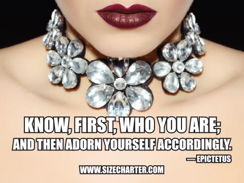 Epictetus fashion quote