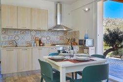Sizilien Ferienhaus Küche