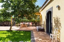 Terrasse Garten Landhaus Nerello