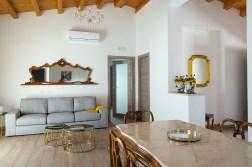 Wohnzimmer Villa Sizilien