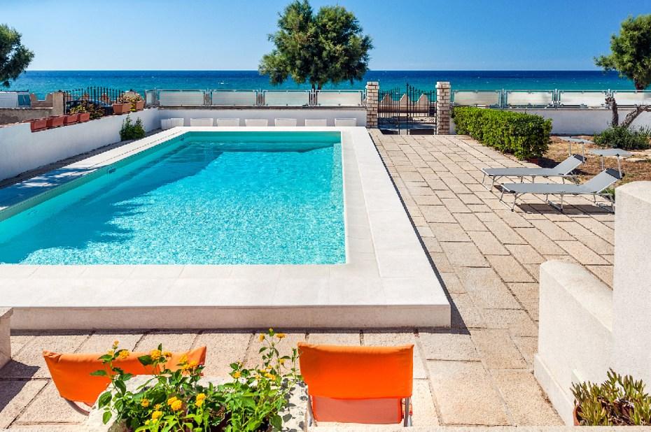 Villa am Strand Sizilien Ferienhaus