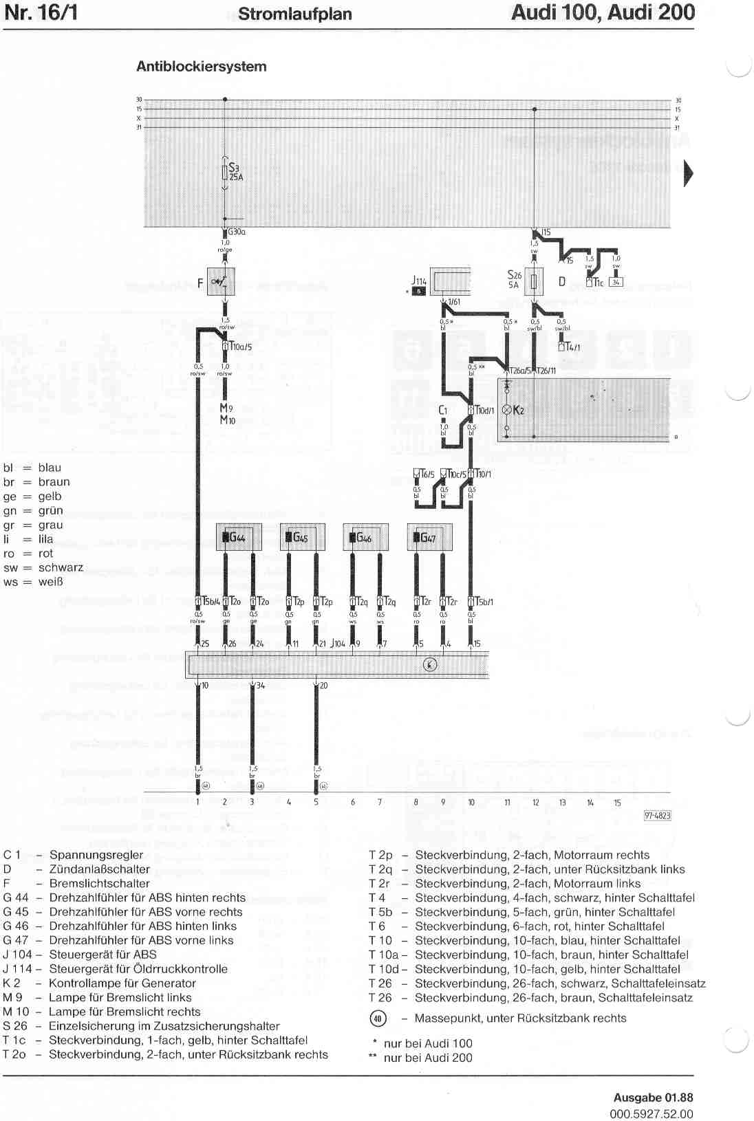 audi 100 c4 wiring diagram palm reading and meaning 200 factory diagrams