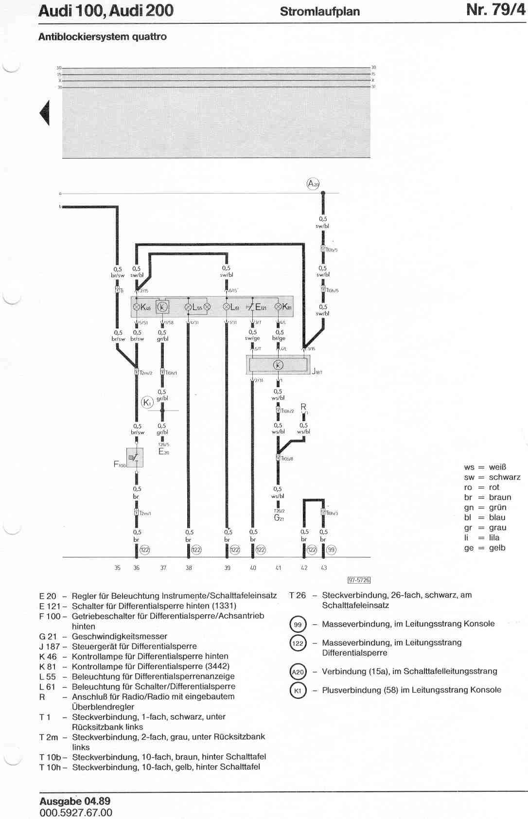 hight resolution of audi 200 wiring diagram wiring diagram schematics audi a4 fuse diagram audi 100 200 factory wiring