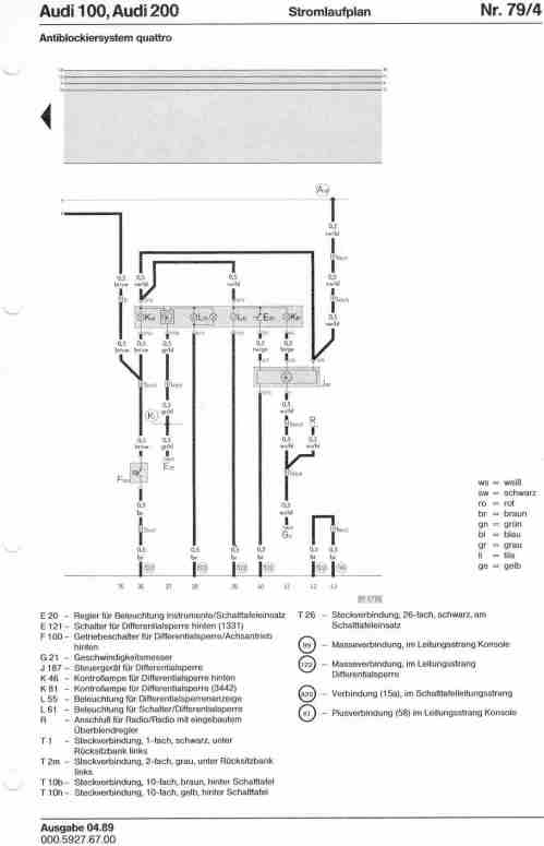 small resolution of audi 200 wiring diagram wiring diagram schematics audi a4 fuse diagram audi 100 200 factory wiring