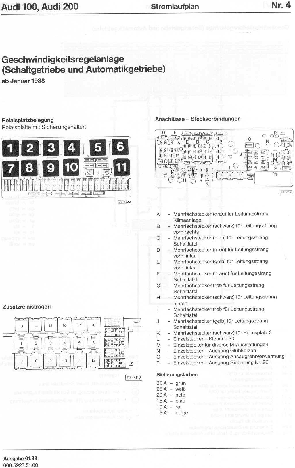 audi 100 c4 wiring diagram yamaha outboard motor parts 200 factory diagrams