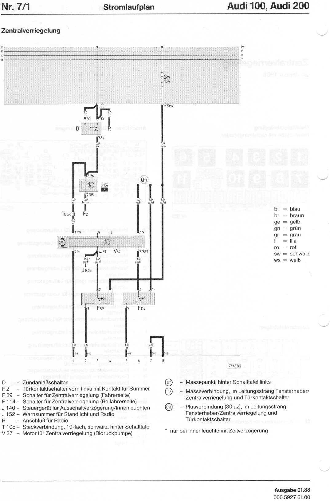 hight resolution of audi 100 200 factory wiring diagrams rh sizov org audi a6 wiring diagram audi fuse