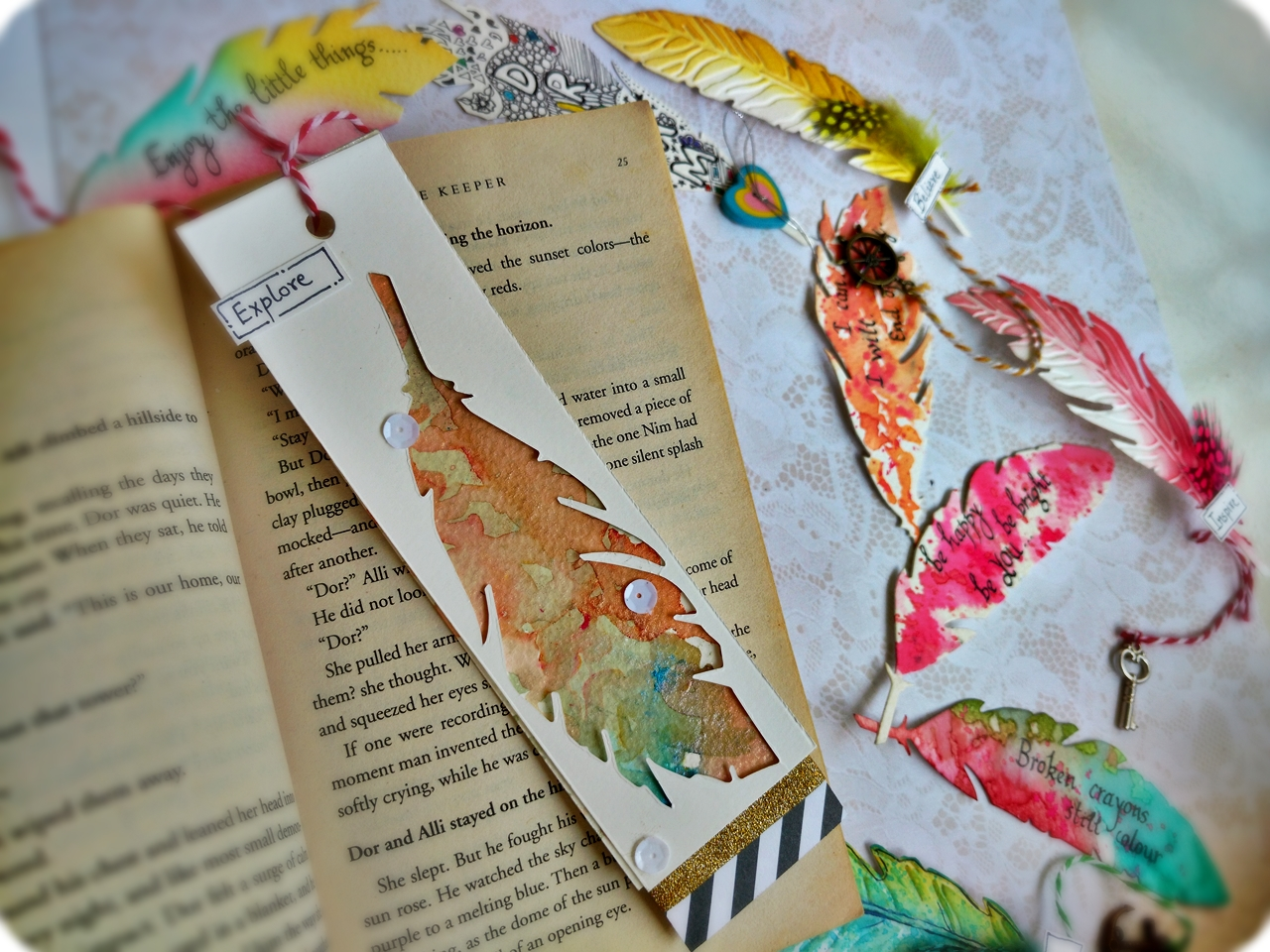 Quick and Simple Bookmark Ideas  jkaur  Daily