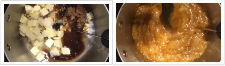 Making butterscotch pudding from scratch