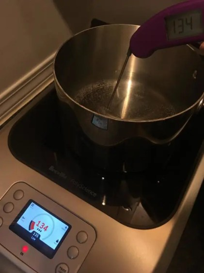 Accurate temperature reading on the Breville PolyScience Control Freak
