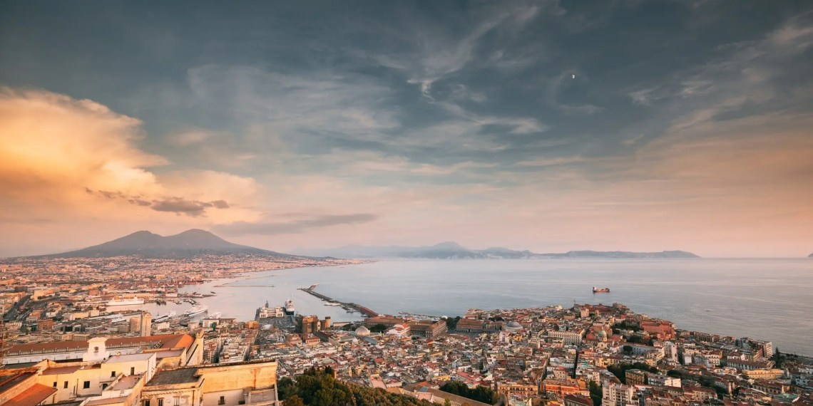 Naples, Italy, home of the Neapolitan pizza