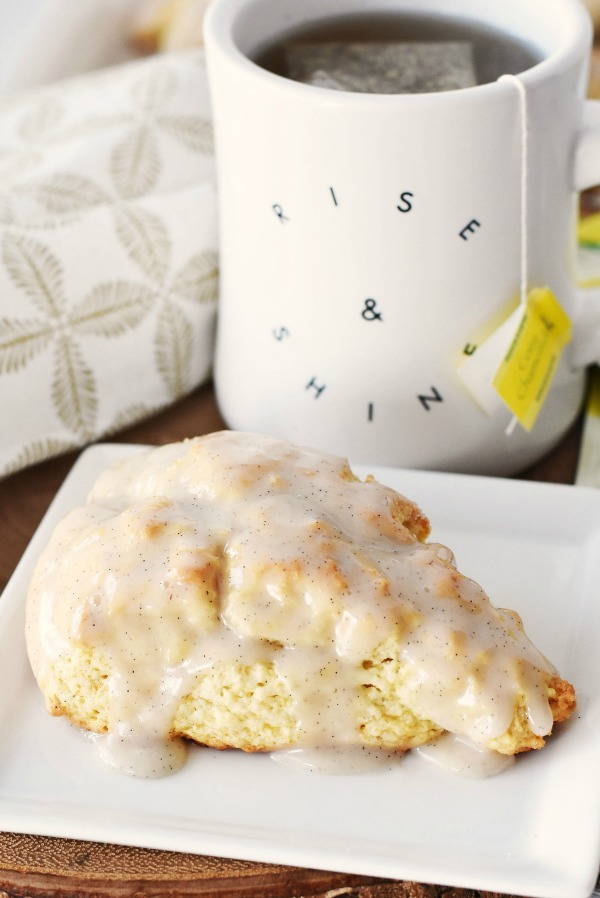 Vanilla Bean Scones Recipe & Tea