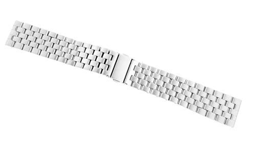 22mm Sterile Aviator Pilot Watch Bracelet w/ Straight