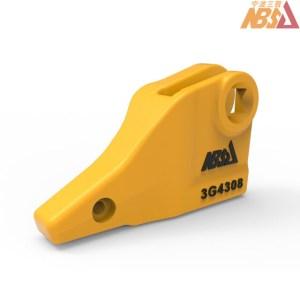 3G4308, 3G-4308 Caterpillar style J300 Left-Hand Bolt-on Corner Adapter