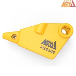 CATERPILLAR LOADER BUCKET ADAPTER LH 3G-8308 3G8308