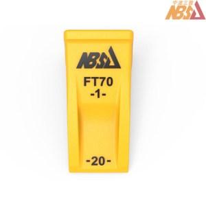 FT70 Takeuchi, LonKing, Fukuda (FKD) Miniexcavator bucket tooth