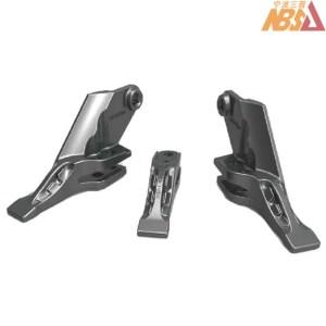 Bolt-on Central Tip and Side Cutter JCB 332-C4388 332-C4389 332-C4390