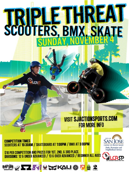 Scooters, BMX, Skate - Sunday, November 4, 2012