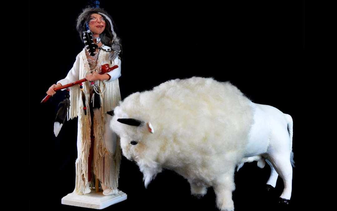 White Buffalo Calf Woman altaar bouwen en initiëren