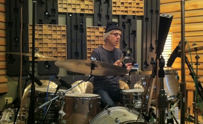 Bill Rieflin Getting Ready To Record