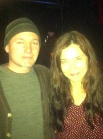 Saint John and Lisa Hannigan