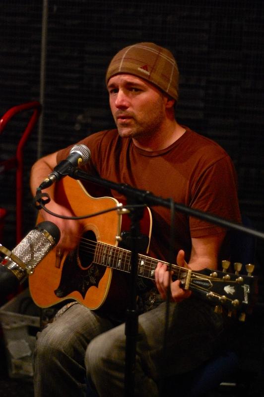Saint John performing on KDVS Radio