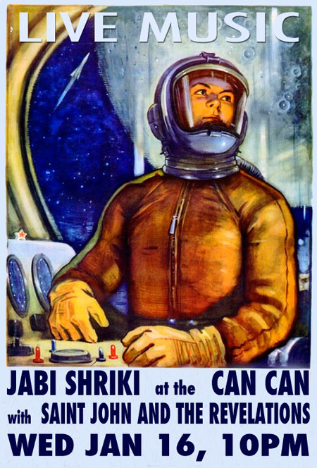 Saint John and the Revelations at the Can Can