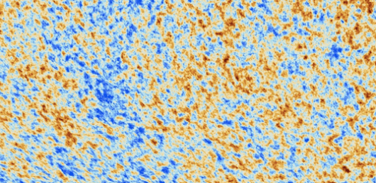 Map of the Universe from the Planck Satellite