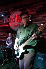 BJ Skoff at the Hard Rock Cafe Seattle