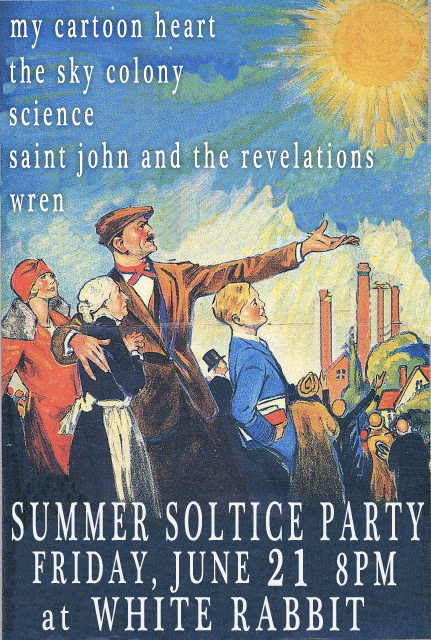 Summer Solstice Party at the White Rabbit in Fremont
