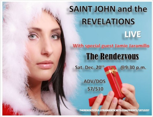 Saint John and the Revelations live at the Jewelbox Theatre
