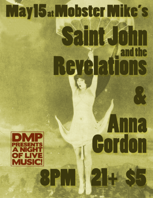 Saint John and the Revelations and Anna Gordon at Mobster Mike's