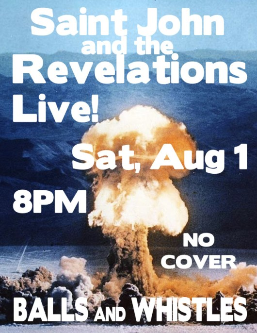 Saint John and the Revelations Live at Balls And Whistles In Kirkland WA
