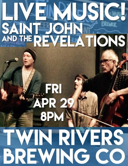 Saint John and the Revelations at Twin Rivers Brewing Co in Monroe WA