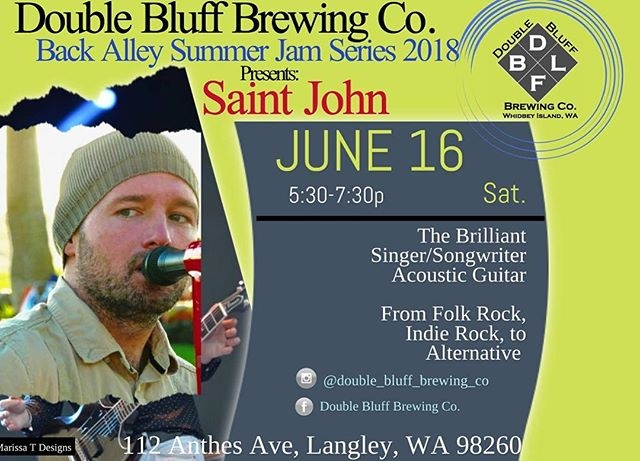 This Saturday At Double Bluff Brewing