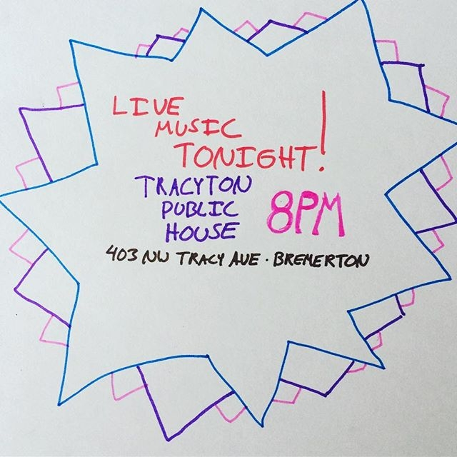 Tracyton Public House Tonight!