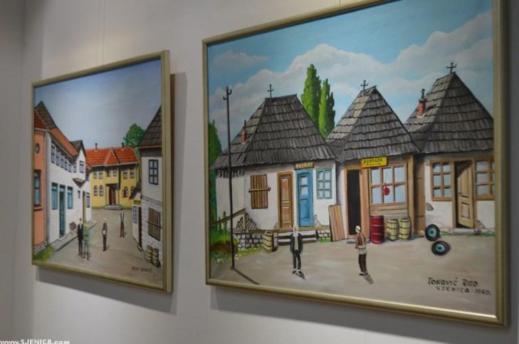 """Izložba slika """"Sjenica 2017"""" otvorena u Bijelom Polju"""
