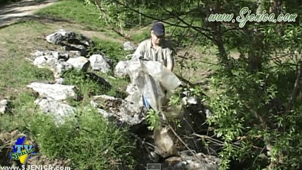 Akcija ocistimo Srbiju u Sjenici