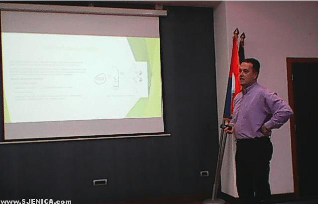 Biberović Elmedin dipl.inž.el. i Rukovodilac Telekoma u Sjenici