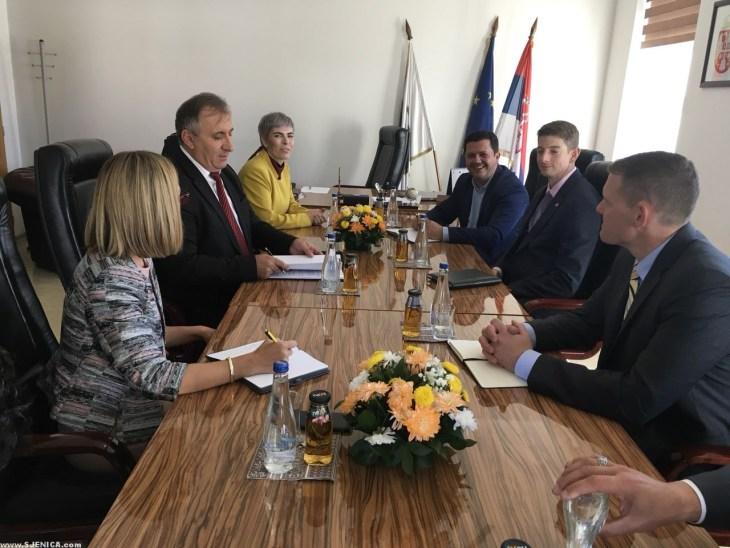 Predstavnici Ambasade Amerike u poseti našem gradu - Sjenica - 7-
